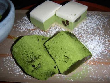 kama抹茶蕨餅