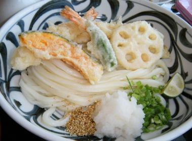 kana天ぷらうどん