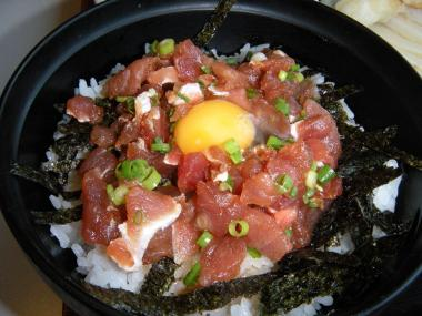 kanaまぐろタタキ丼