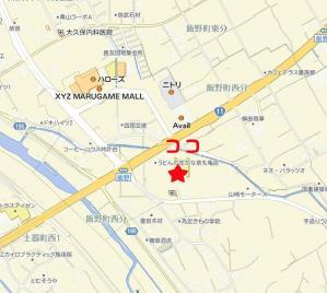 かな泉丸亀地図