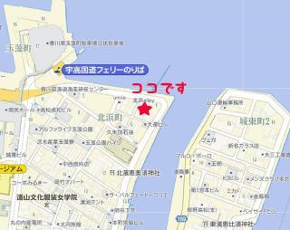 北浜alley地図
