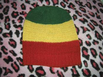 レゲエな帽子