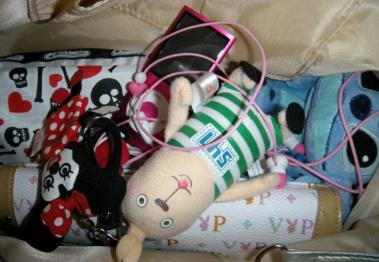 ポニョ子のバッグ