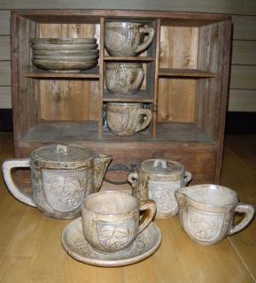昭和初期のコーヒーセット2