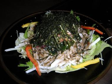 道とん堀大根海草サラダ