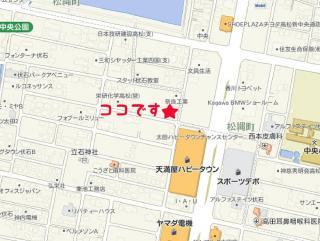 Laなら別館 絆[KIZUNA]地図