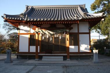 会下天満神社4拝殿