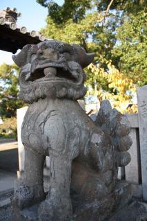会下天満神社10狛犬