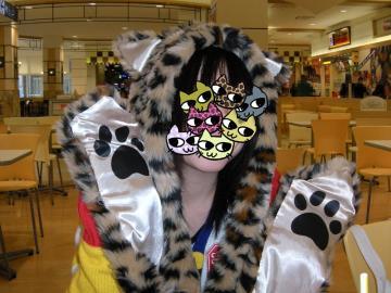 ポニョ子×猫耳帽子