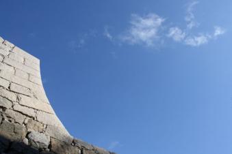 丸亀城石垣たち