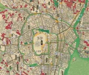 大江戸古地図