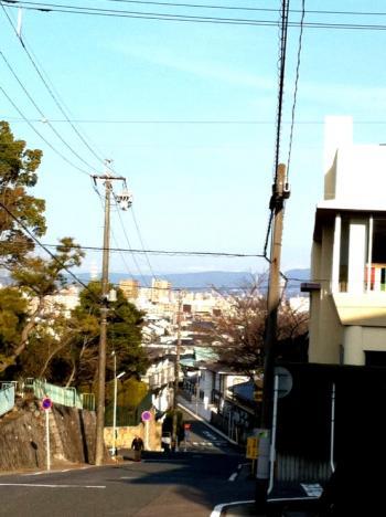 名東区平和が丘付近坂道4