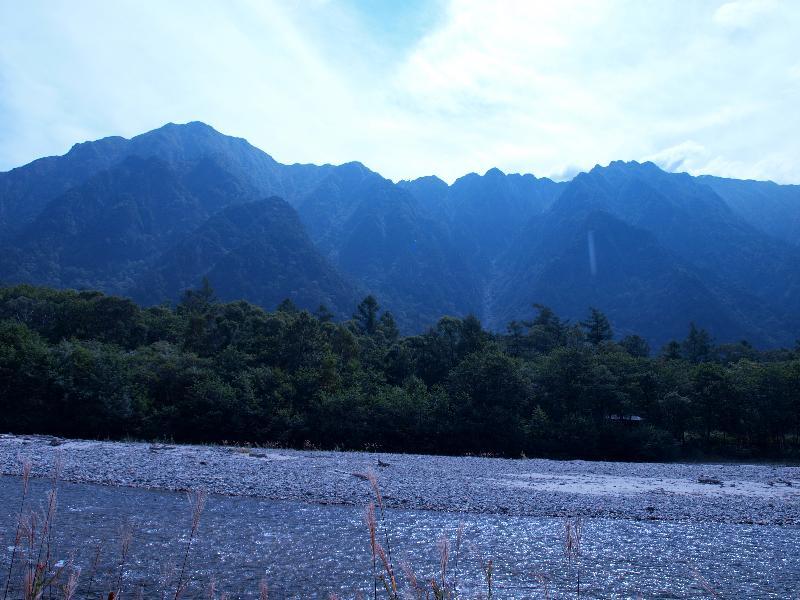 上高地 田代橋からの風景