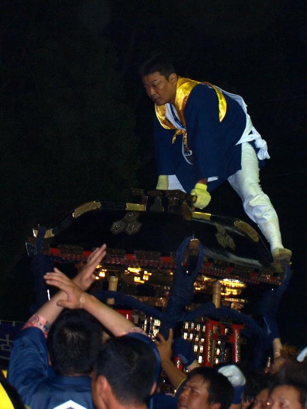 松山秋祭り 厳島神社 宵宮 けんか神輿