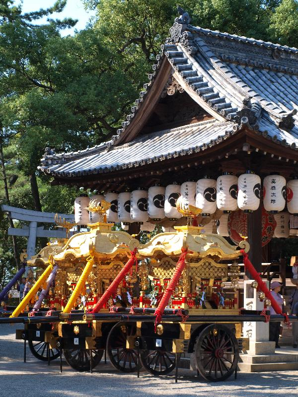 さぬき豊浜 ちょうさ祭り 豊浜八幡神社