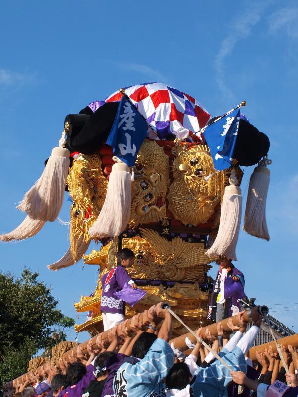 西条祭り 嘉茂神社 宮出し 難波