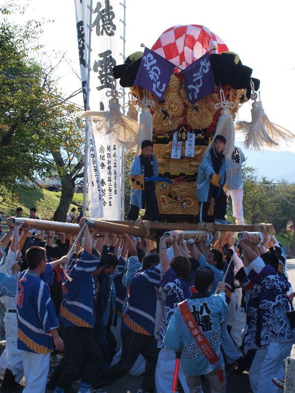 西条祭り 嘉茂神社 宮出し 八幡