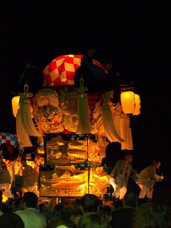 土居秋祭り ユーホール会場 入野太鼓台