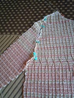 袖編みなおし