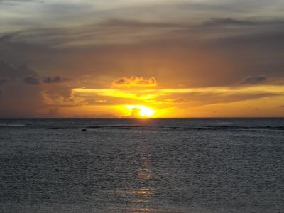 グアムの夕陽1