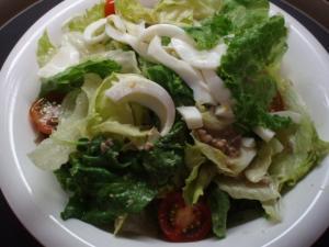 20110716ラオスひき肉入りサラダ