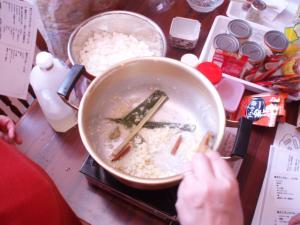 20110717香味野菜炒める