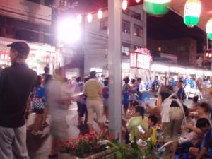 20110805万代町のお祭り