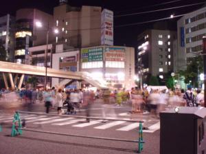 20110805駅前交差点