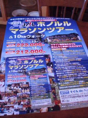 2011ホノルルツアーポスター