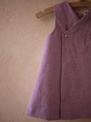 20日 リバーシブルジャンパースカート (3)