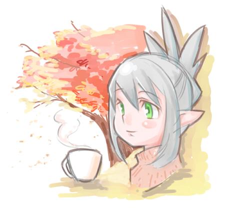 秋のお茶の時間ブログver