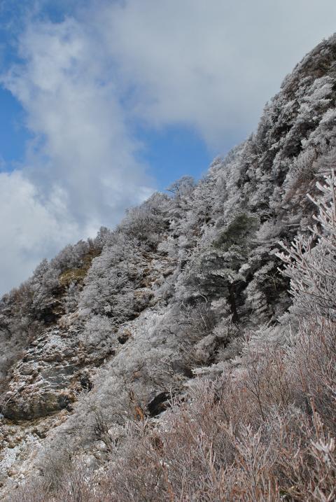 20120325三嶺南面雪化粧