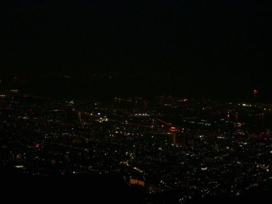 341摩耶山からの夜景