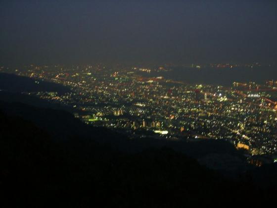 321摩耶山からの夜景