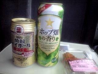 0524新幹線呑み
