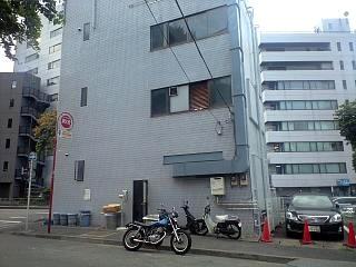 ラーメン二郎三田本店(再開の外観2)