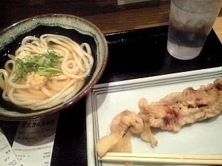 宮武讃岐製麺所(ゲソ天&うどん)