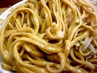 ラーメン二郎品川支店(小豚麺)