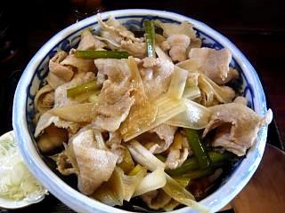 堀留屋(肉南蛮蕎麦上)