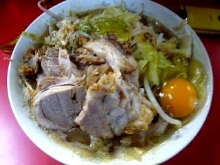 ラーメン二郎三田本店(小豚1)