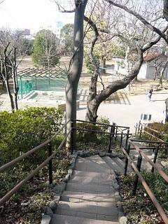 亀塚(階段)