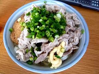 肉キツネうどん(その1)