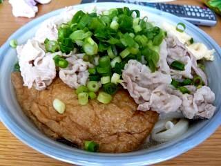 肉キツネうどん(その2)