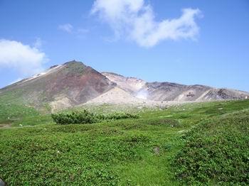 姿見平からの旭岳17