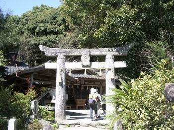 八天神社登山口2