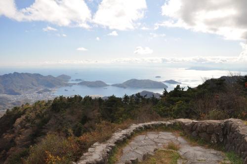 四望頂から見た田ノ浦半島