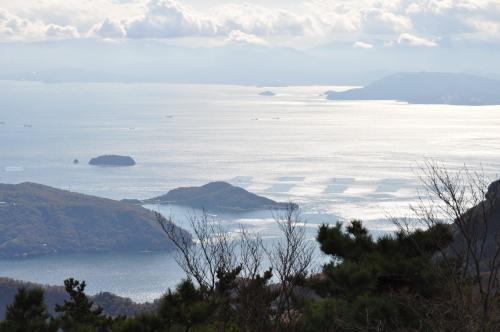 田ノ浦半島と瀬戸内海