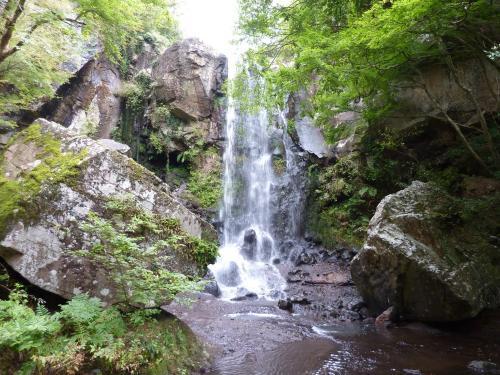 八月の銚子の滝