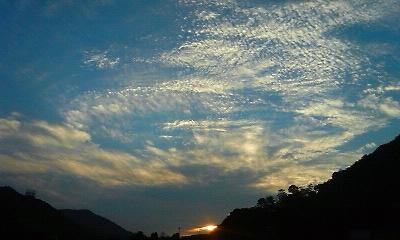 有田の夕景(2010.10.13)