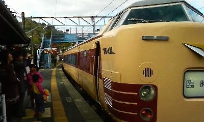 懐かしの国鉄485系(上有田駅)2010.11.23
